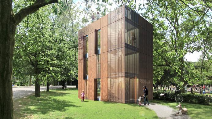 Een variant van de Nezzt zoals die op de Dutch Design Week in Eindhoven te zien was.