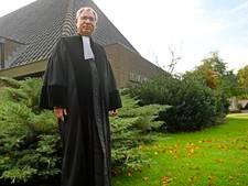 Dominee Wout Oosterhof van Hervormde Kapel Wierden met emeritaat