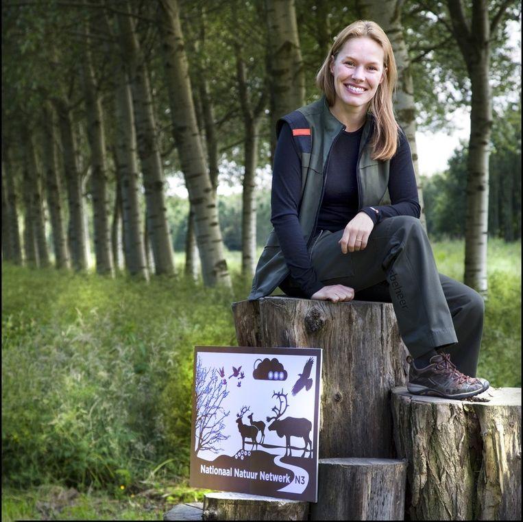 Marieke Schatteleijn werkt voortaan in een Nationaal Natuur Netwerk. Beeld Werry Crone