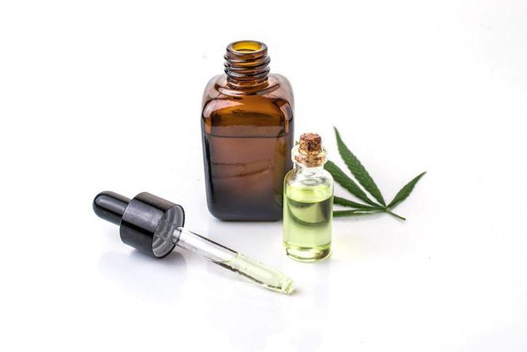 Cannabisolie. Foto ter illustratie.