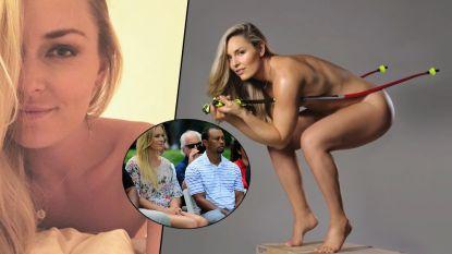 Naaktfoto's gelekt, donkere periode op sportief vlak: Lindsey Vonn over romance met Tiger Woods