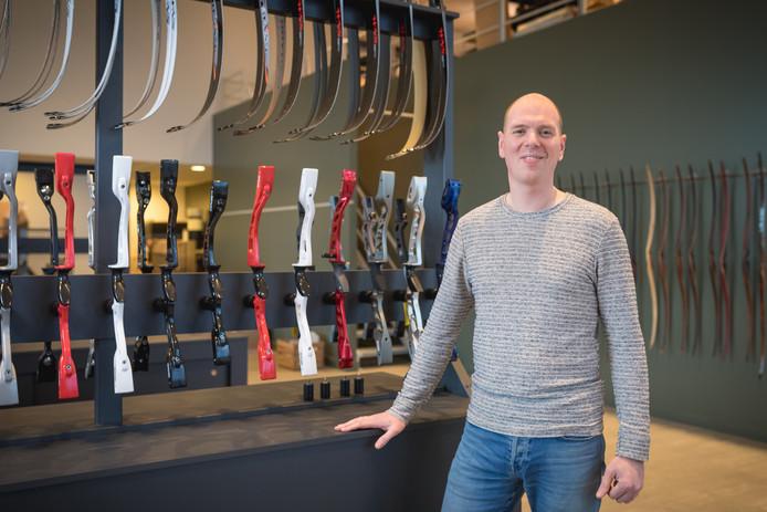 Jan-Willem Lentjes in zijn nieuwe filiaal