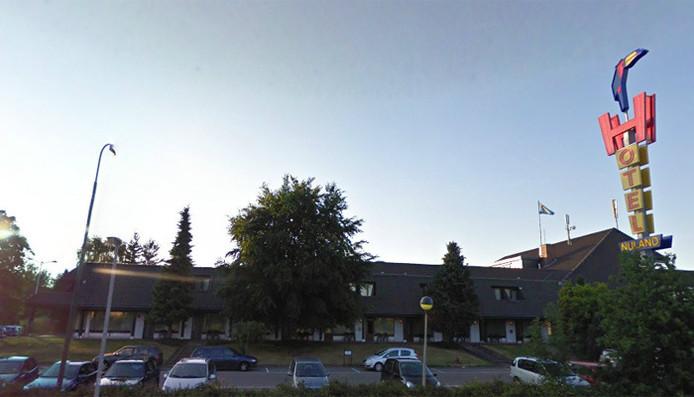 Het Van der Valk hotel in Nuland.
