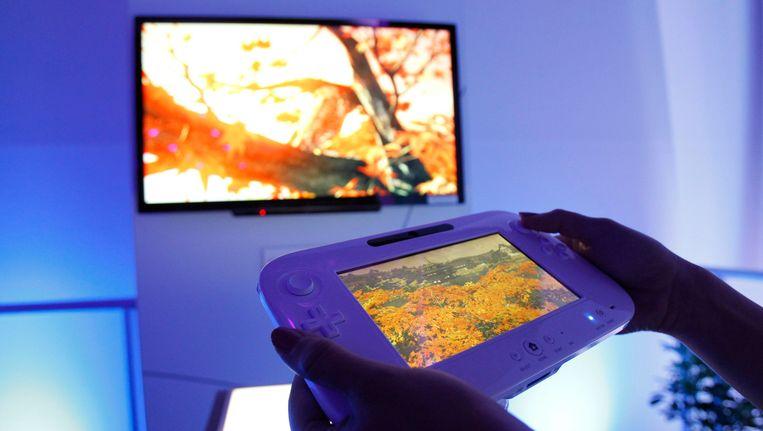 Een demonstratie van de Wii U. Beeld null
