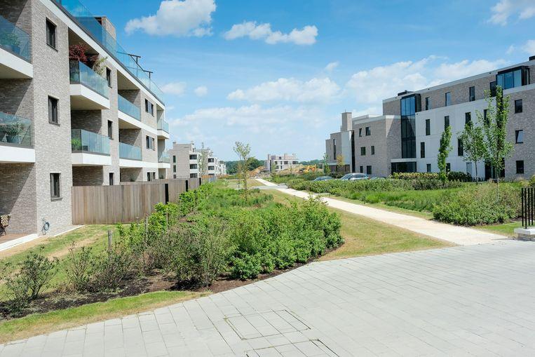 Op het project van Sterea werden de voorbije jaren al verschillende woningen gebouwd. Nu is er protest tegen de mogelijke komst van nog eens 67 wooneenheden.