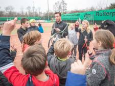 De tennisjeugd heeft de toekomst op Noord-Beveland