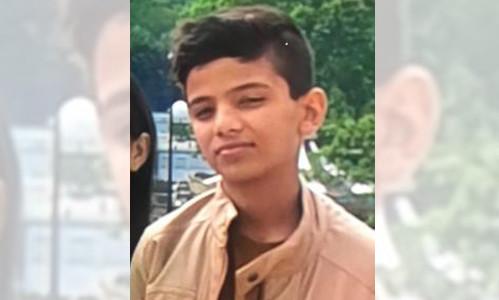 De vermiste Malik (13).