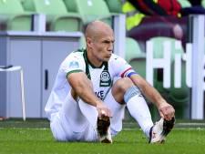 Arjen Robben se blesse pour son grand retour avec Groningue