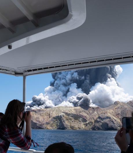 Echtpaar op huwelijksreis zwaar verbrand bij vulkaanuitbarsting