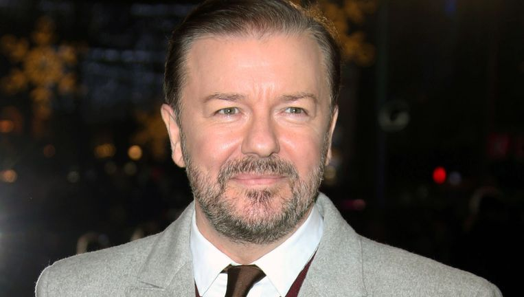 Ricky Gervais Beeld ap