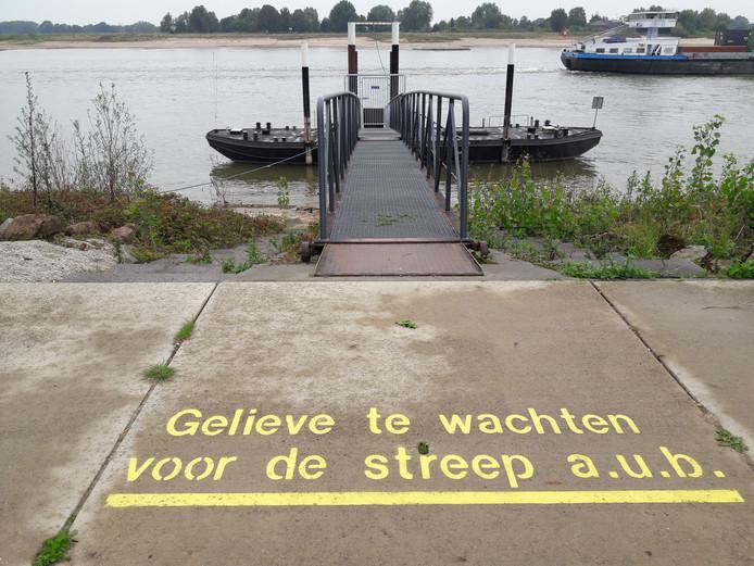Tussen Beuningen en Slijk-Ewijk was in de eerste week van augustus al de laatste afvaart.