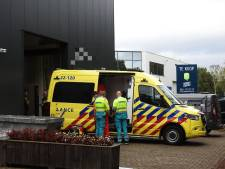 Eigenaar van Valkenswaards bedrijf valt meters naar beneden en moet naar het ziekenhuis