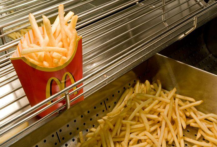 Uiteraard staat friet nog steeds op het menu.