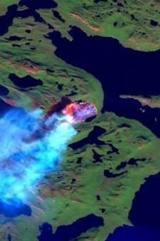 Grootste toendrabrand ooit woedt al dagen op Groenland