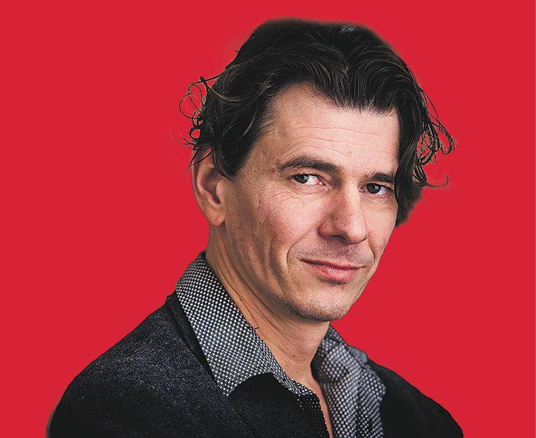 Dimitri Verhulst is schrijver en bestuurslid van Pluim. 'Los van alles is het ook een denktank' Beeld .