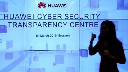 Huawei opent Brussels cybercentrum onder massale belangstelling