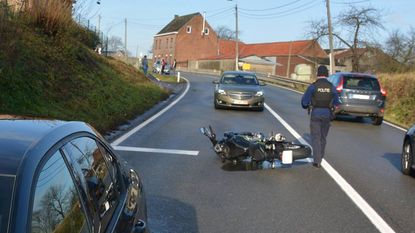 Klopjacht naar motorrijder die wegvlucht bij politiecontrole