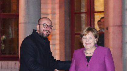Charles Michel ontvangt aan vooravond van Europese minitop tien Europese leiders op Hertoginnedal