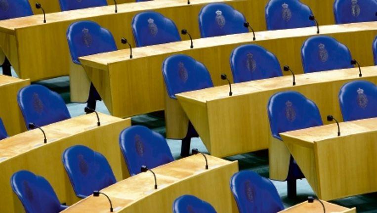 De invloed van de Kamer op de regering beperkt zich doorgaans tot het uitdelen van speldenprikken. (FOTO ANP) Beeld