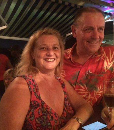 Hans Schilders uit Heeze en Lise van de Kamp uit Eindhoven hebben nog steeds trauma van orkaan Maria