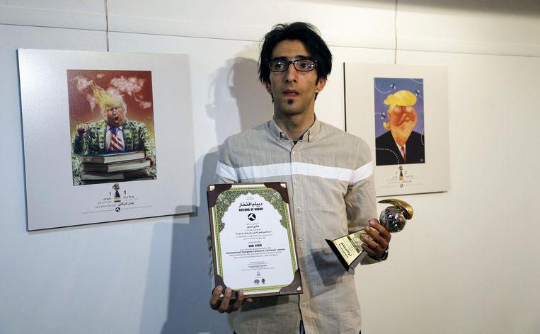 Hadi Asadi wint de wedstrijd en ontvangt daarvoor een prijs van 1500 dollar.