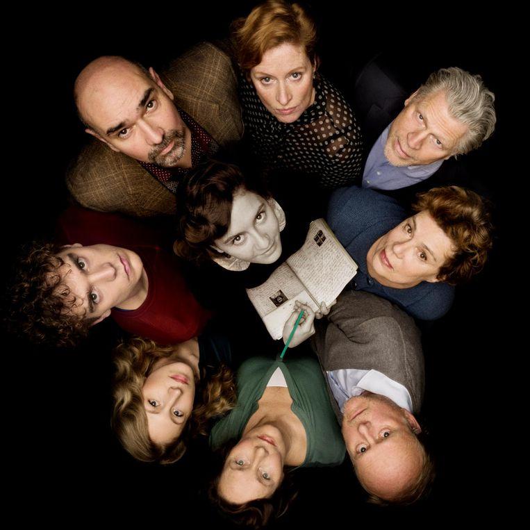 De cast van Achter het Huis Beeld