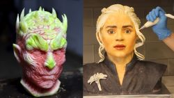 'Game of Thrones'-gekte compleet: personages vereeuwigd in taarten en fruit