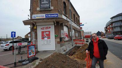 Krantenwinkel dag dicht door langdurige stroompanne