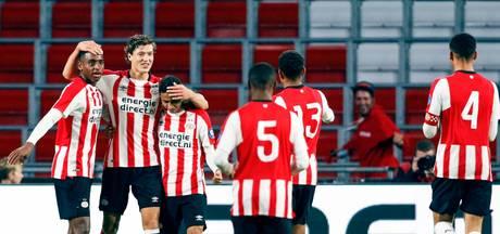 Jong PSV dankt Room en komt nog terug uit geslagen positie