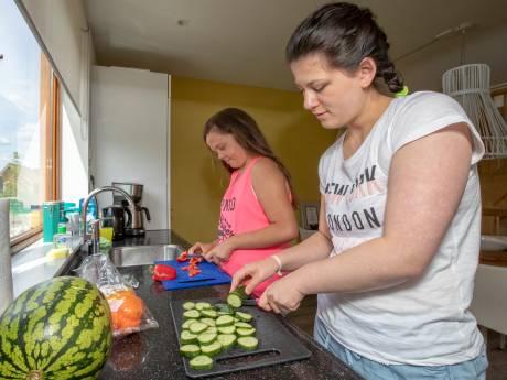 Cliënten Ipse 'trainen buiten de deur' in recreatiehuisje Reeuwijk