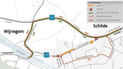 Maand hinder door heraanleg fiets- en voetpad Turnhoutsebaan