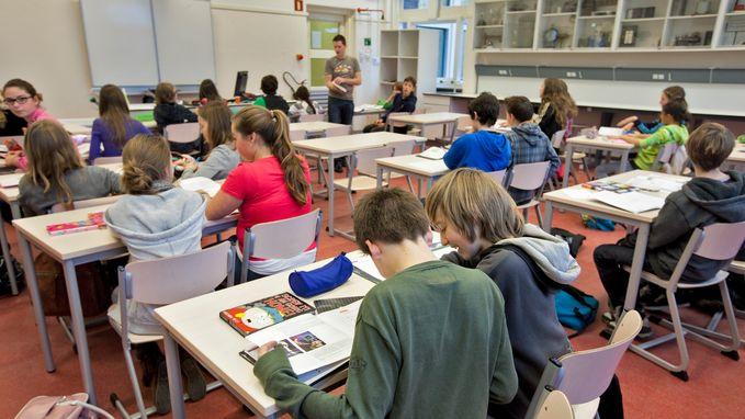 Steeds minder zittenblijvers in secundair onderwijs