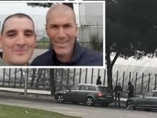 Impliqué dans un accident de la route avec Zidane, il prend... un selfie avec lui