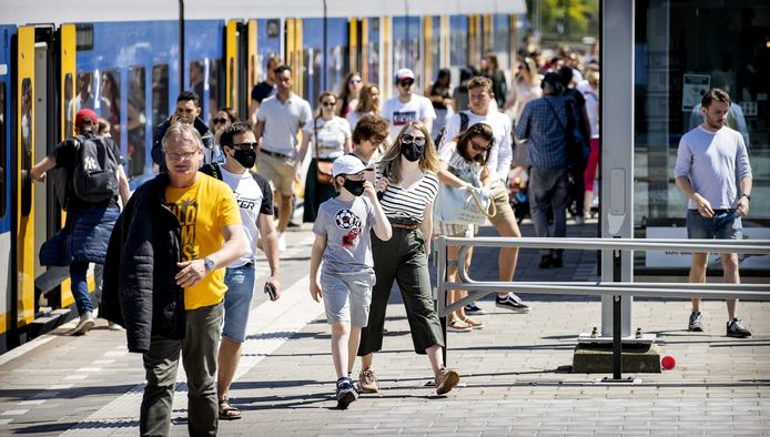 In mei riep de NS ook al op om niet met de trein naar Zandvoort te gaan wegens de drukte.