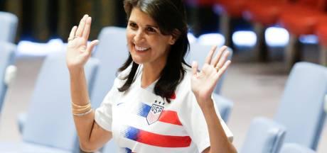 'Amerika stapt uit VN-raad voor Mensenrechten'