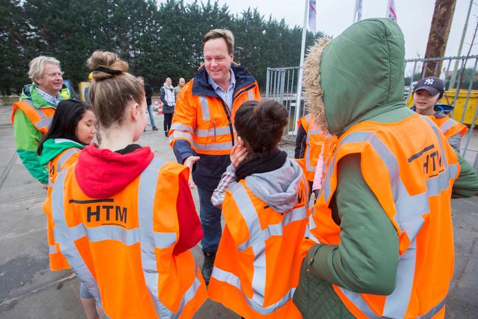 VMBO'ers doen bliksemstage bij de HTM - HTM-baas Jaap Bierman