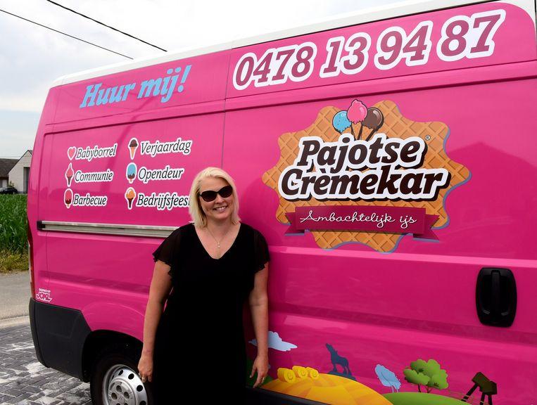 Ellen bij de Pajotse Crèmekar