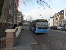 Lijnbus trekt oliespoor door Zwolle