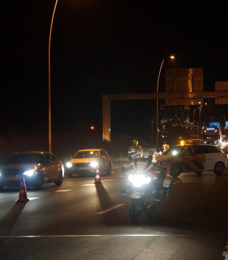 Meerdere gewonden bij ongevallen op Midden-Brabantweg bij Waalwijk en Kaatsheuvel