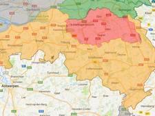 Code rood voor natuurbrandgevaar in heel Brabant opgeheven, nu code oranje