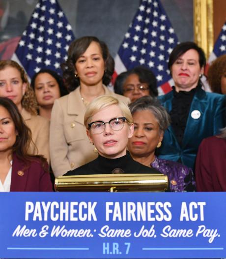 Michelle Williams au Capitole pour réclamer l'égalité salariale