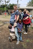 Leerlingen van het JTC in Afrika