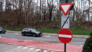 Extra verbodsbord enkelrichtingsstraat tegen hardleerse bestuurders