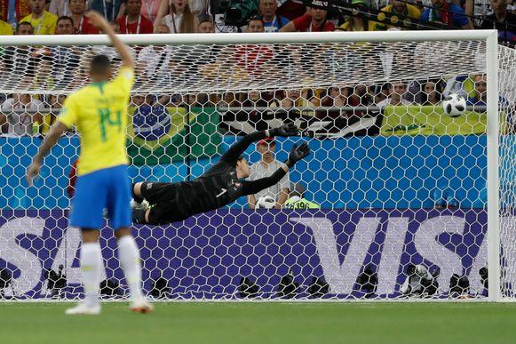De treffer van Coutinho was voortreffelijk.