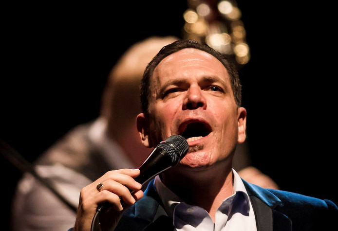 Jazz vocalist Kurt Elling.