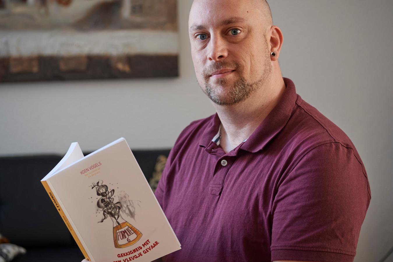 Koen Vogels geeft les op de John F. Kennedyschool in Oss en schreef een kinderboek.