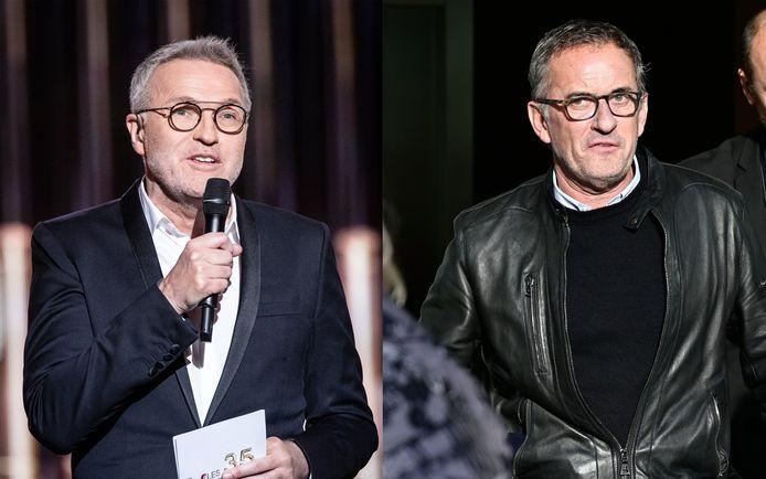 Laurent Ruquier et Christophe Dechavanne