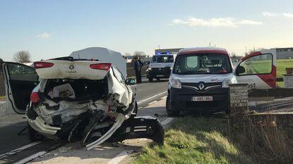 Twee gewonden bij ongeval in Pannestraat