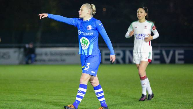 """Ella Van Kerkhoven met AA Gent Ladies naar Genk: """"Interessant om te weten wie het verst staat"""""""