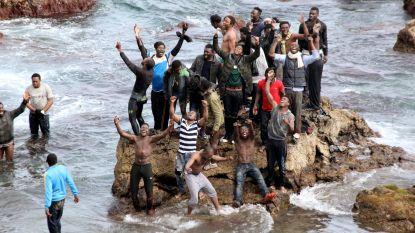 Twee vrouwen omgekomen aan de grens met Spaanse exclave Ceuta